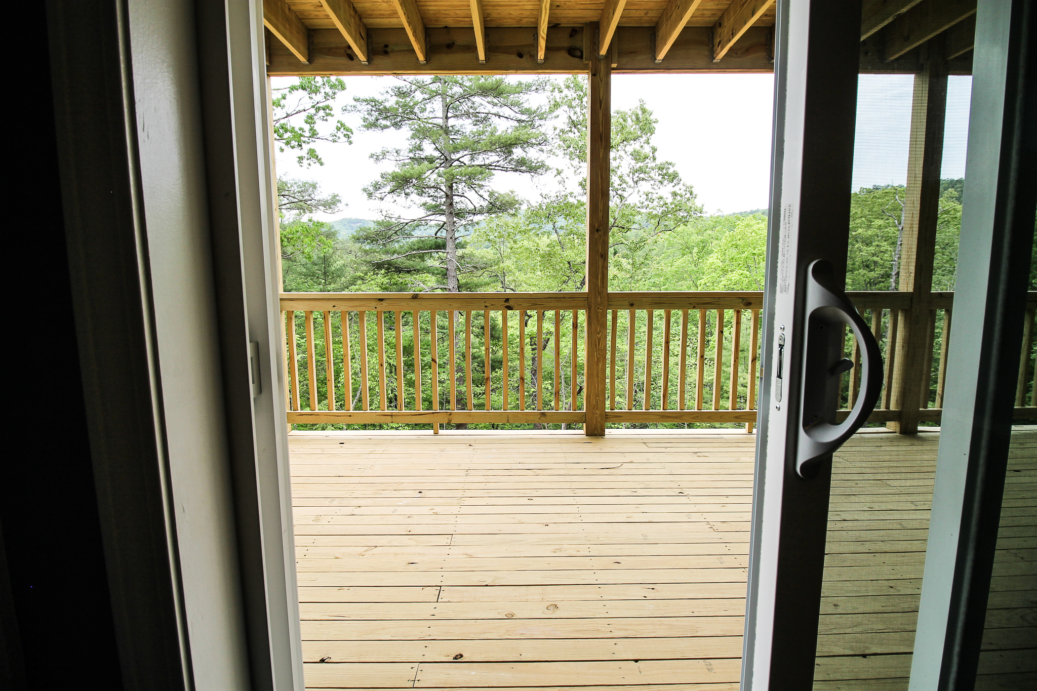 New porch