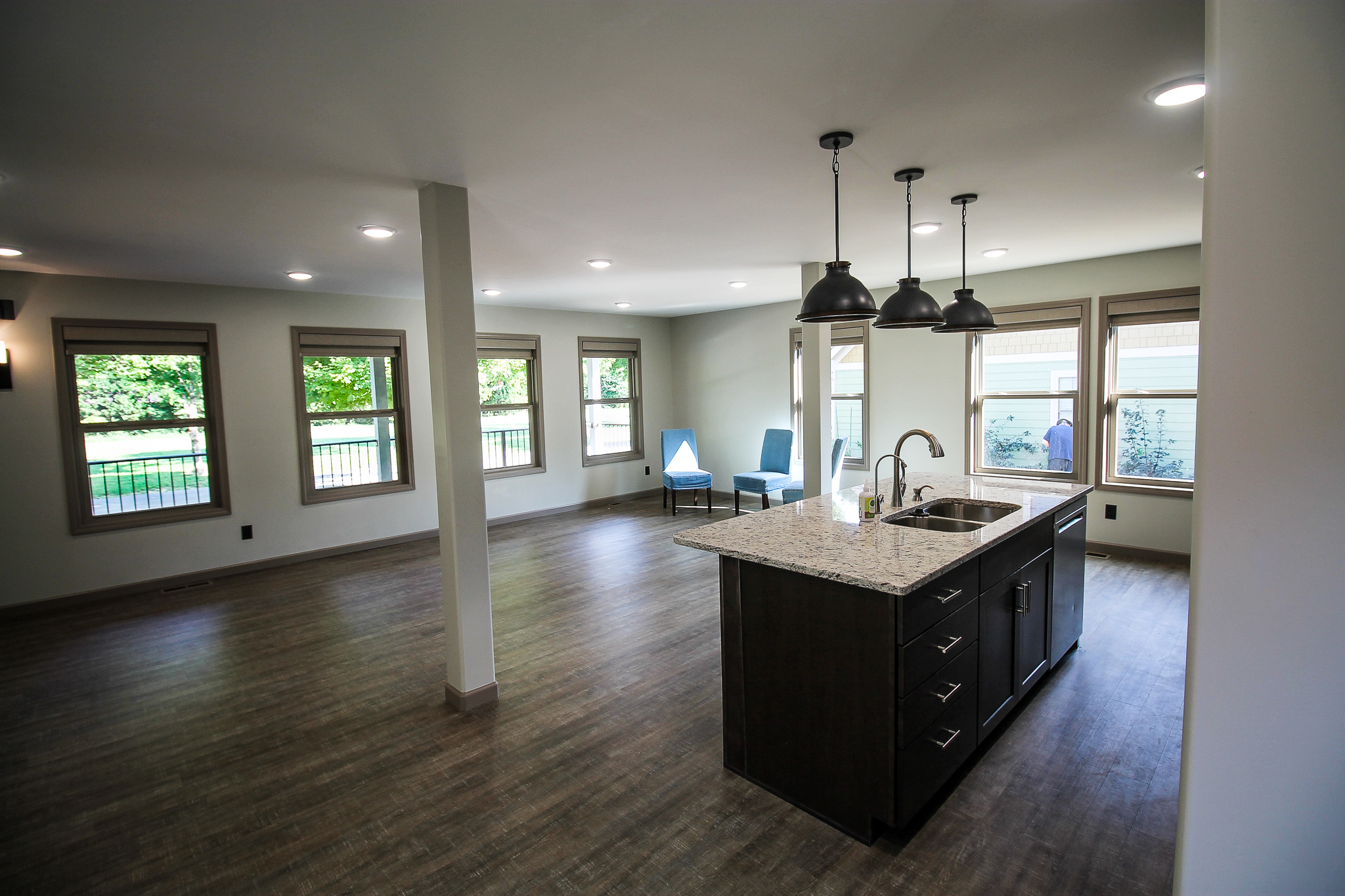 New home build in Townsend, Tennessee