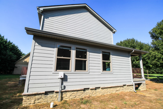 Custom home build in Townsend, Tennessee